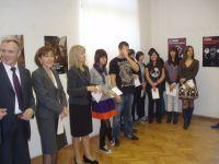 Izložba radova učenika Škole primijenjene umjetnosti i dizajna u Zagrebu