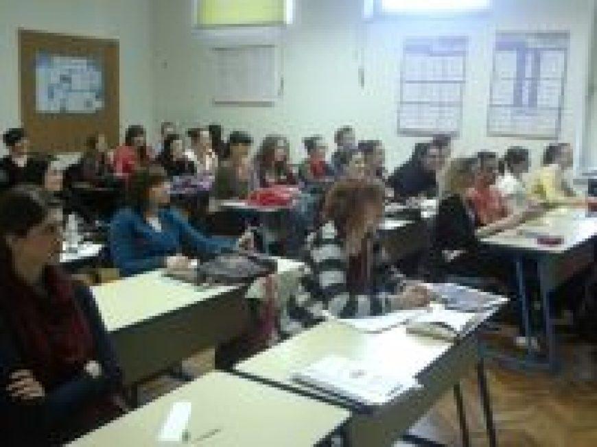 Predavanje za studente u Slavonskom Brodu