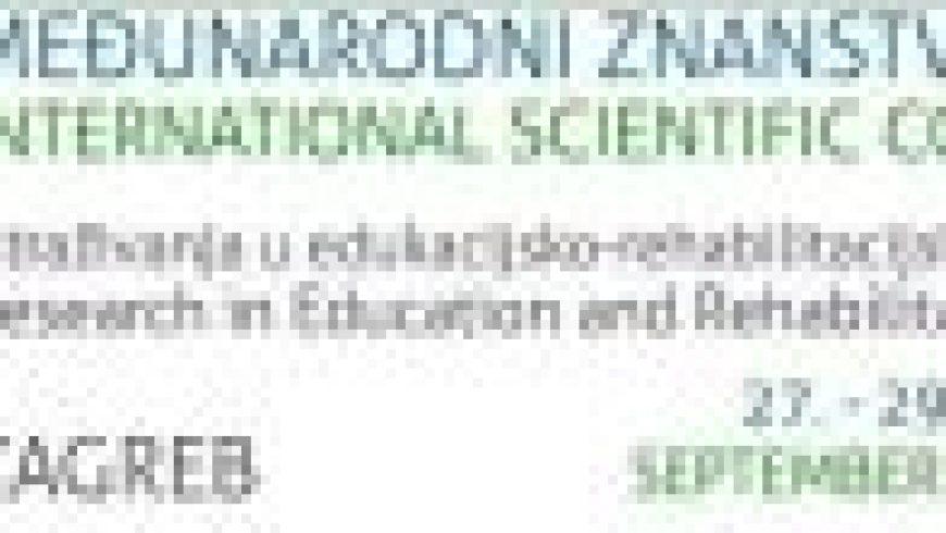 """Međunarodni skup """"Istraživanja u edukacijsko-rehabilitacijskim znanostima"""""""