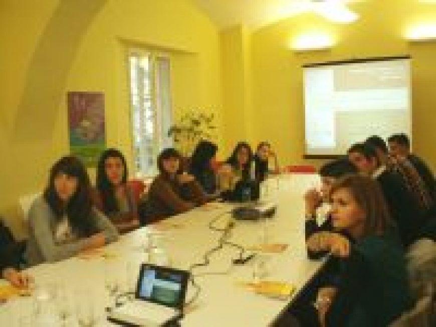 Susret s polaznicima Komunikološke škole 2012.