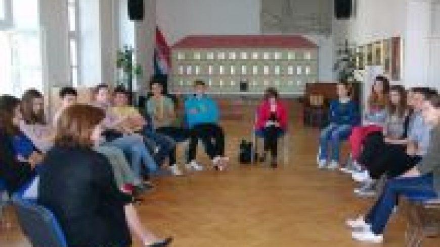 Posjet Srednjoj školi Petrinja