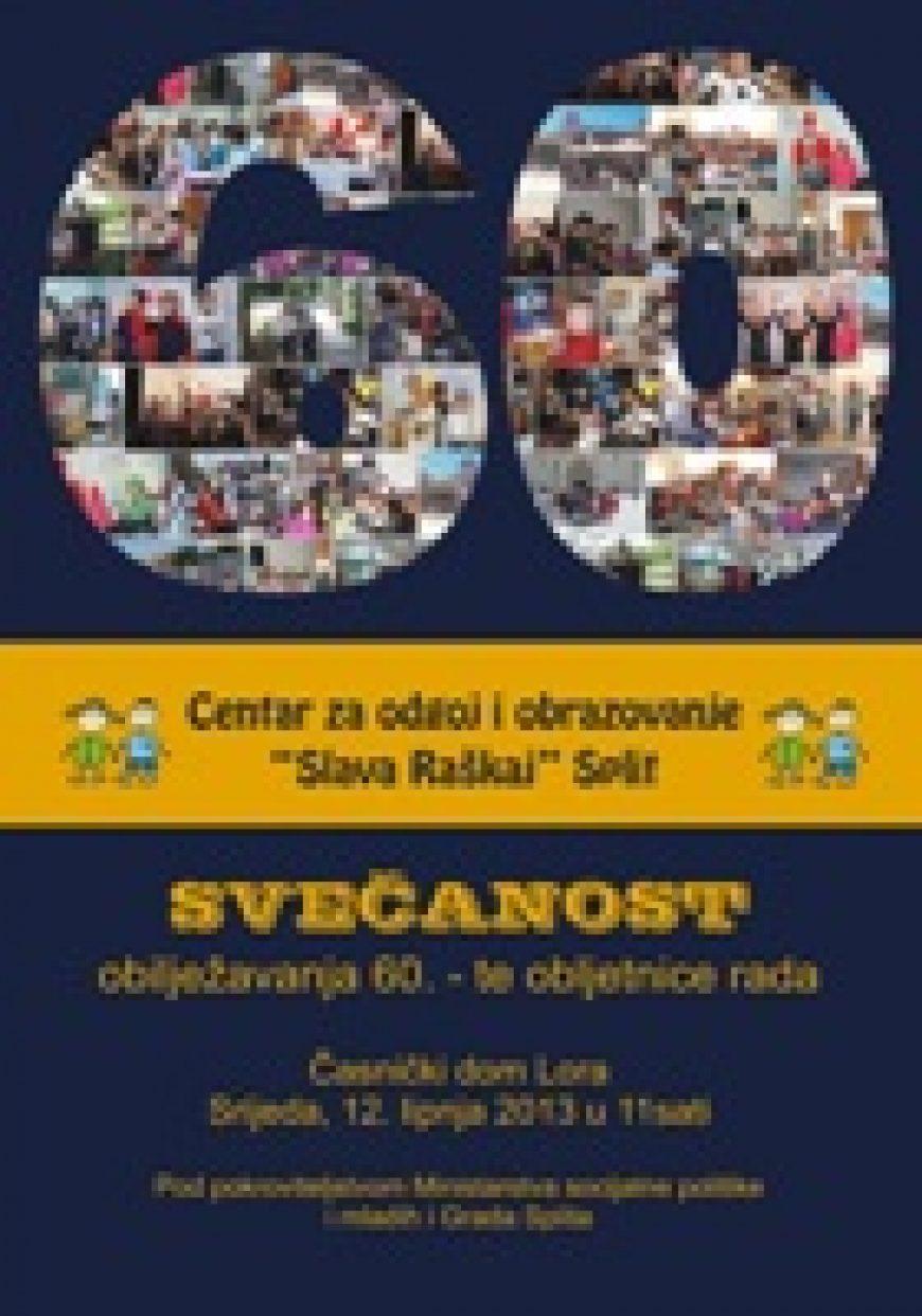 """Obljetnica Centra """"Slava Raškaj"""" u Splitu"""