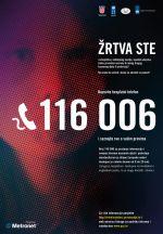 Besplatni telefon za žrtve kaznenih djela 116 006