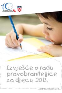 Hrvatski sabor prihvatio Izvješće o radu pravobraniteljice za djecu za 2013.