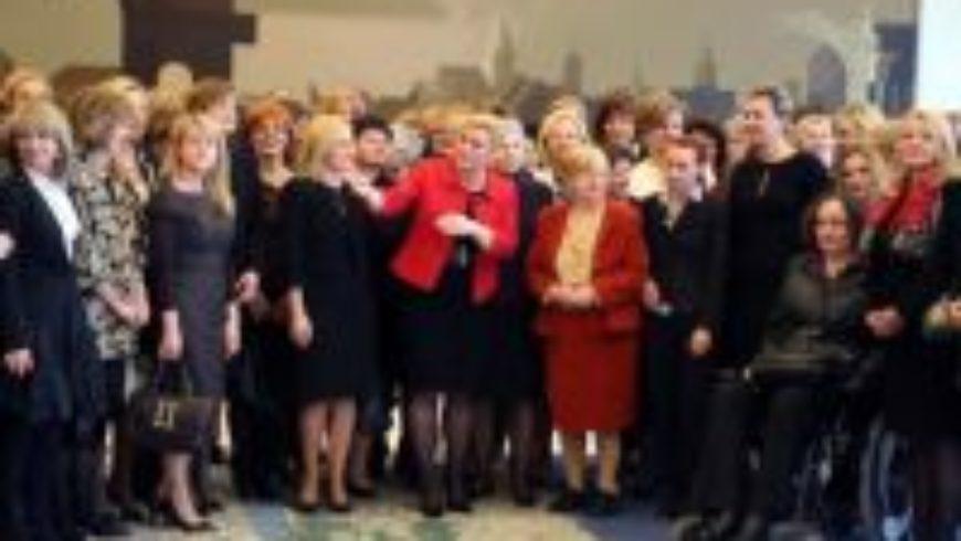 Istaknute žene na prijemu predsjednice Grabar-Kitarović