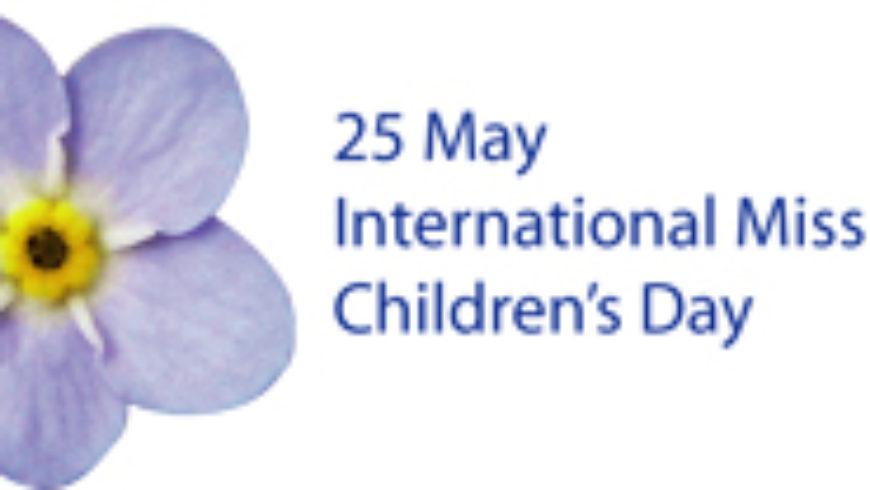 Međunarodni dan nestale djece 25. svibnja