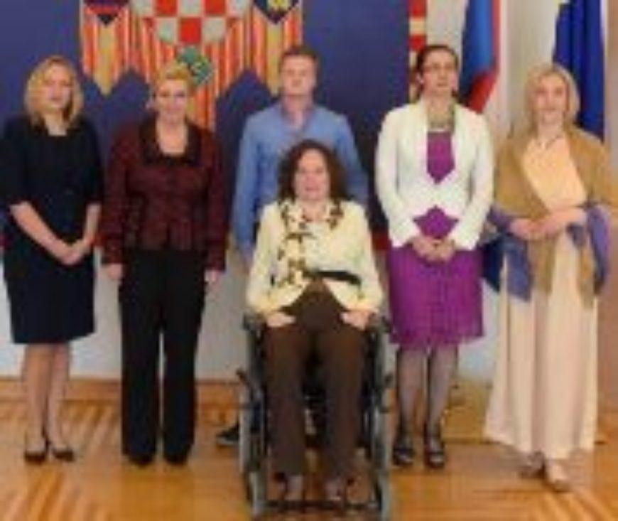 Pravobraniteljice s predsjednicom Grabar-Kitarović