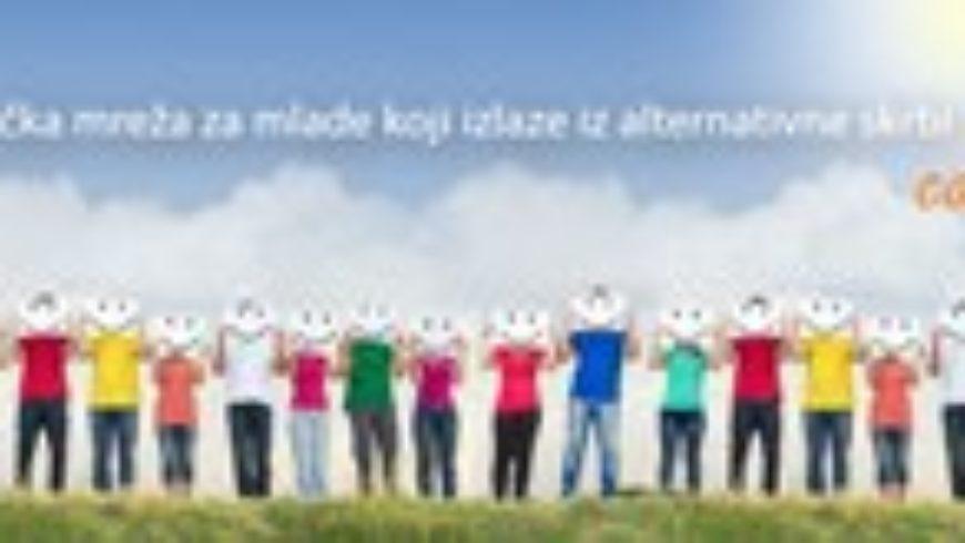 Podrška mladima koji izlaze iz alternativne skrbi