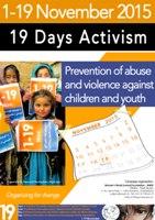 Poziv na 19 dana aktivizma protiv nasilja nad djecom