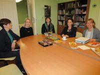 Predsjednica međunarodne organizacije COPE Liz Eyre kod pravobraniteljice za djecu