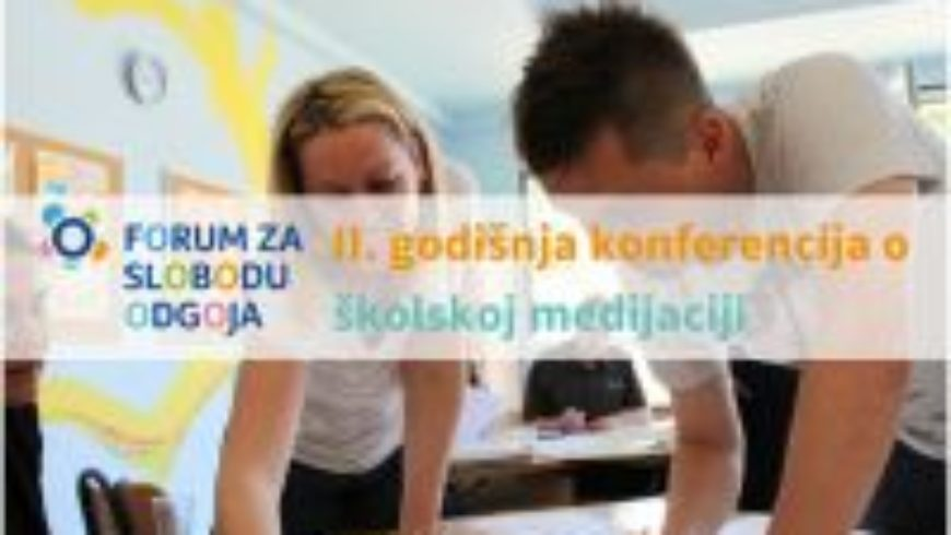 Druga godišnja konferencija o školskoj medijaciji