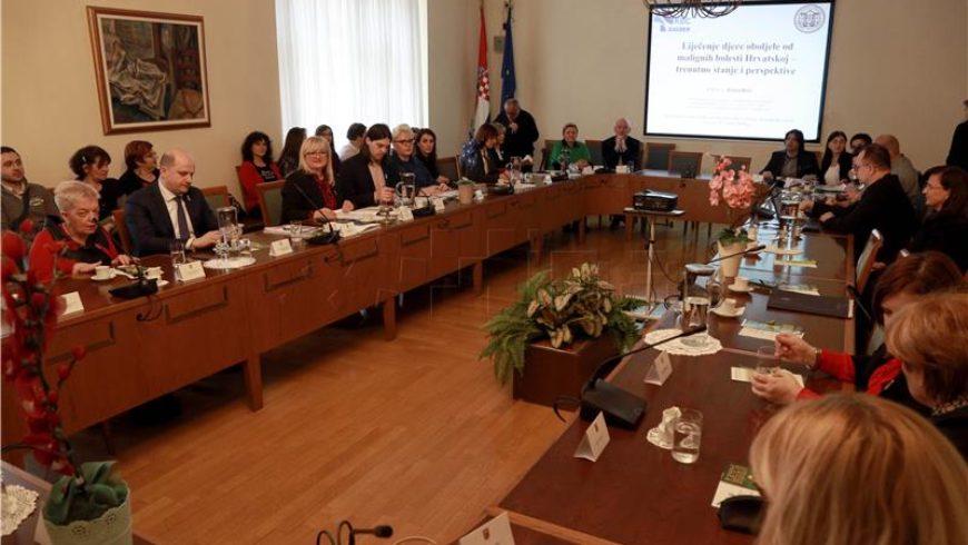 Sjednica saborskih odbora u povodu Međunarodnog dana djece oboljele od malignih bolesti