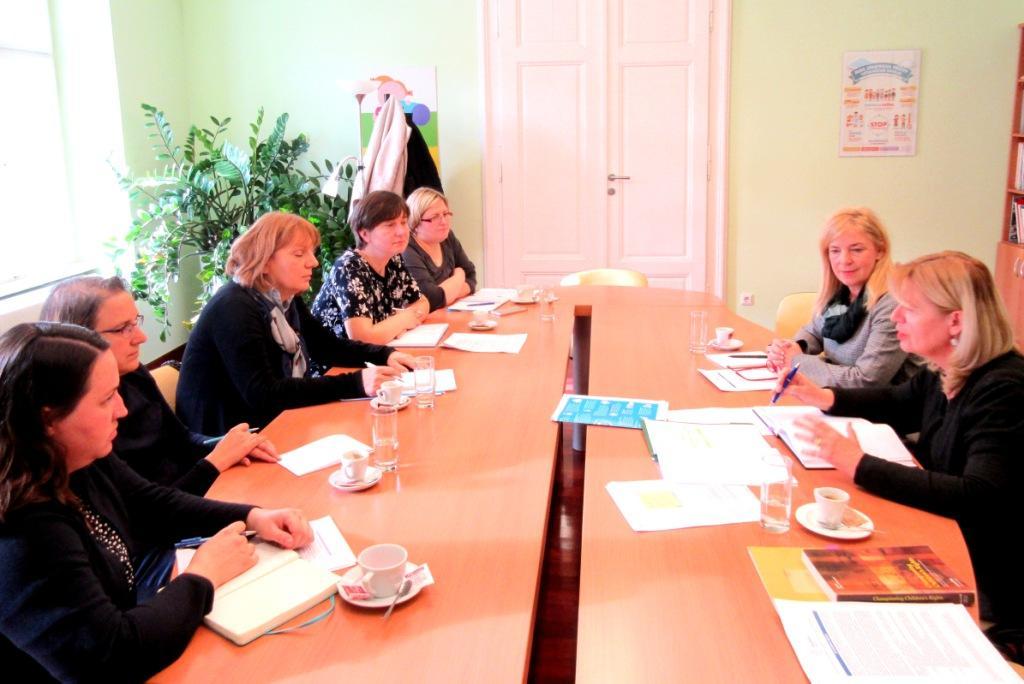 Sastanak s predstojnicom Ureda UNICEF-a za Hrvatsku