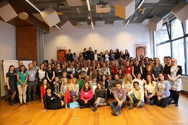 Djeca i odrasli o dječjim pravima na Skupštini Eurochilda u Bruxellesu