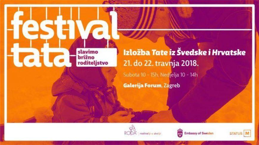 """Otvorena izložba """"Tate iz Švedske i Hrvatske"""""""