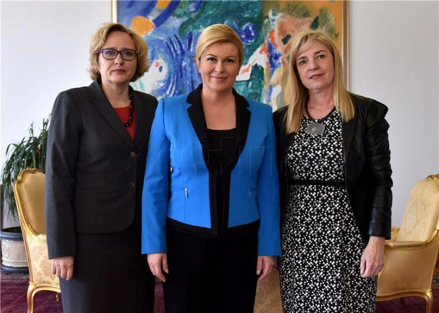Predsjednica Republike razgovarala s pravobraniteljicama o problemima blokiranih