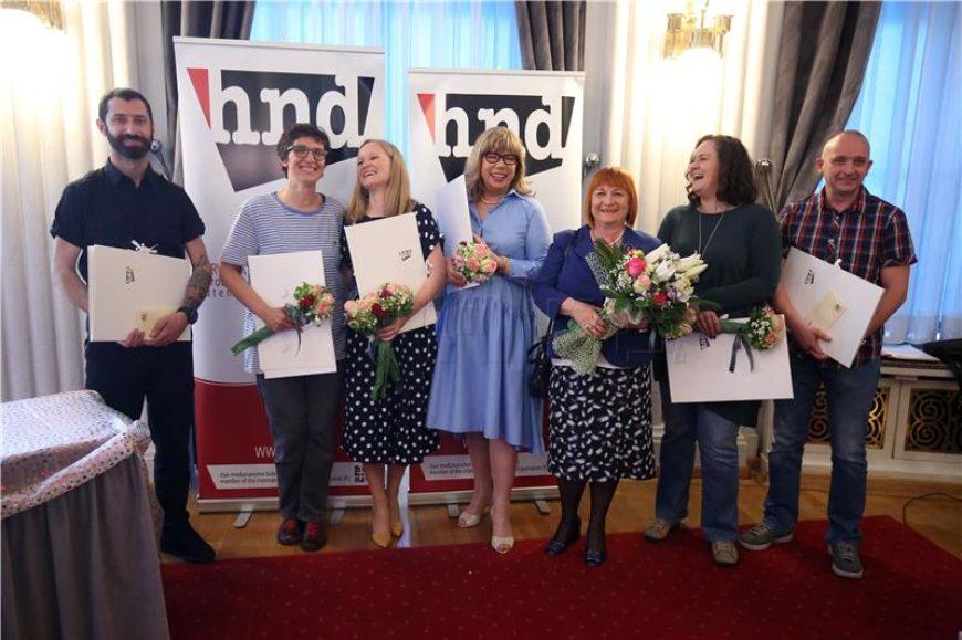 Višnja Biti dobila novinarsku nagradu za životno djelo