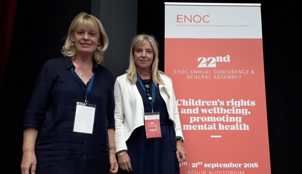 U Parizu održana Godišnja konferencija Europske mreže pravobranitelja za djecu – ENOC