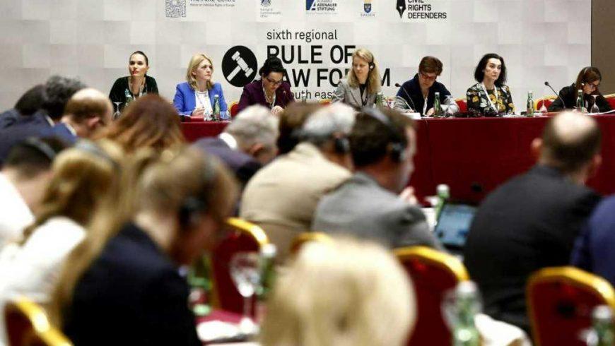 U Dubrovniku održan Regionalni forum o vladavini prava u Jugoistočnoj Europi