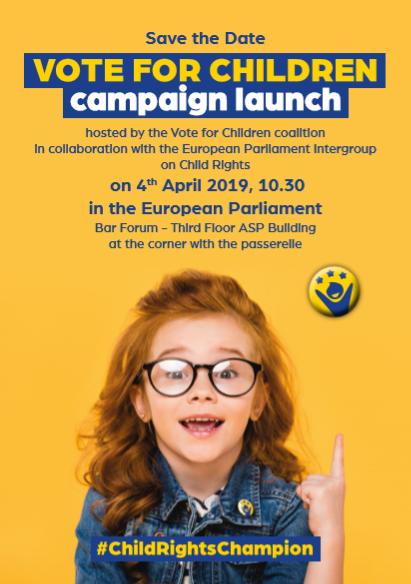 Vote for children campaign