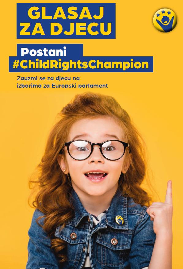 """Poziv kandidatima na EU izborima: Postanite """"Prvak prava djece"""""""