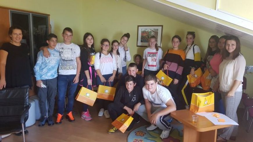 Djeca s Lastova i iz Kistanja u splitskom uredu pravobraniteljice