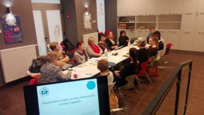 Prvi sastanak Savjetodavnog tijela za ranu intervenciju