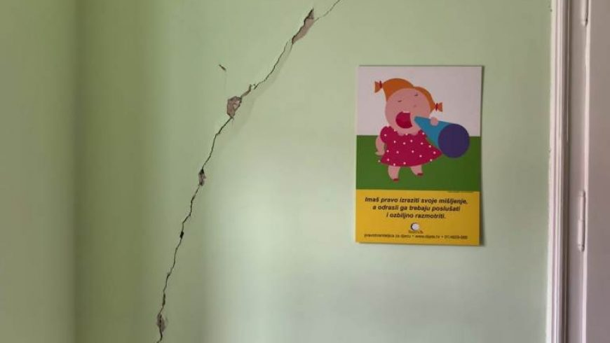 Zbog oštećenja u potresu privremeno zatvaramo Ured u Zagrebu