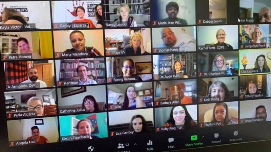 Virtualna međunarodna konferencija obitelji zatvorenika