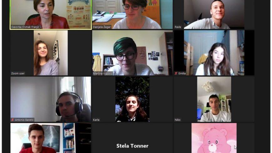 Nove online aktivnosti Mreže mladih savjetnika