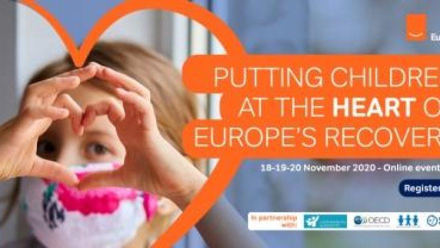 """Eurochildovi webinari """"Djeca kao prioritet u oporavku Europe"""""""