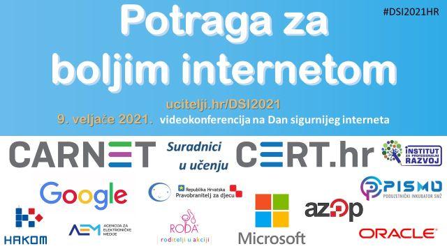 Najava: Videokonferencija – Potraga za boljim internetom