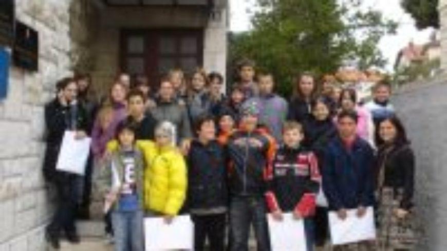 Vijećnici Dječjeg gradskog vijeća u Omišu posjetili Ured pravobraniteljice u Splitu