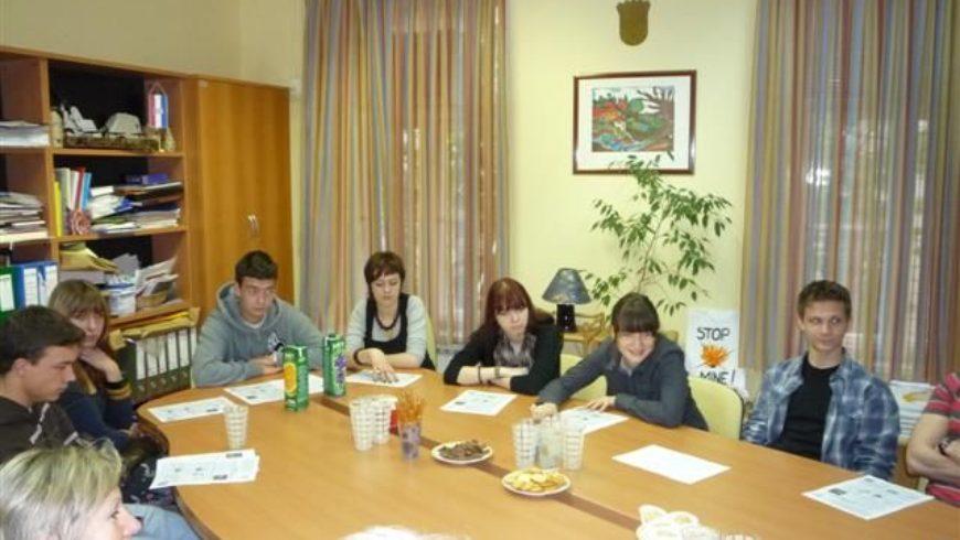 Suradnja s učenicima Škole primijenjene umjetnosti u Zagrebu