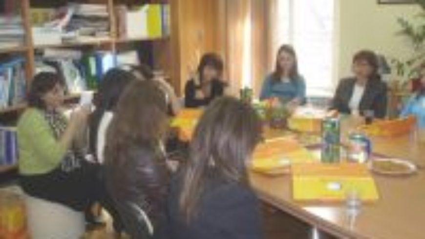 Razgovor s učenicima Upravne i birotehničke škole u Zagrebu