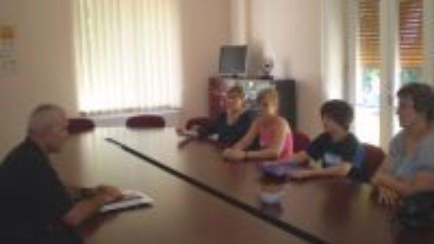 Osječki dječji gradonačelnik posjetio ured pravobraniteljice u Osijeku