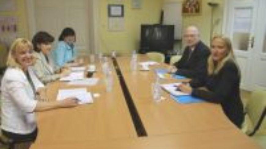 Susret s regionalnim direktorom UNICEF-a Stevenom Allenom