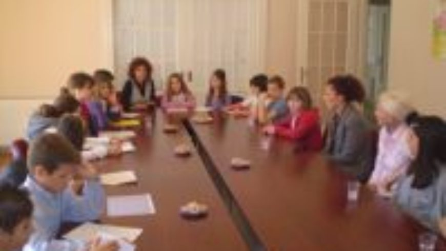 Članovi Dječjeg foruma posjetili osječki ured pravobraniteljice