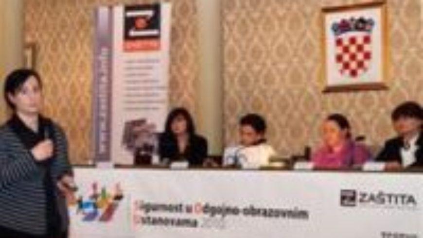 Konferencija o sigurnosti u odgojno-obrazovnim ustanovama