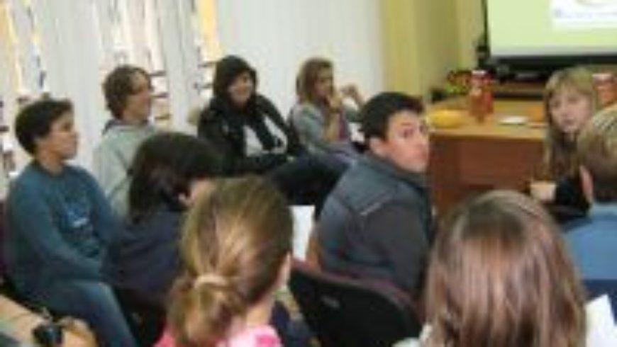 Djeca iz DND Opatija u riječkom Uredu pravobraniteljice