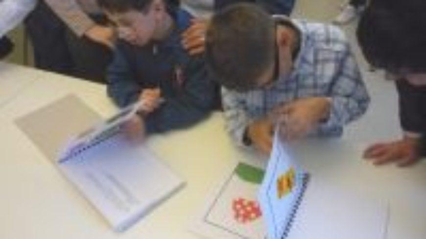Djeca izradila taktilne slikovnice