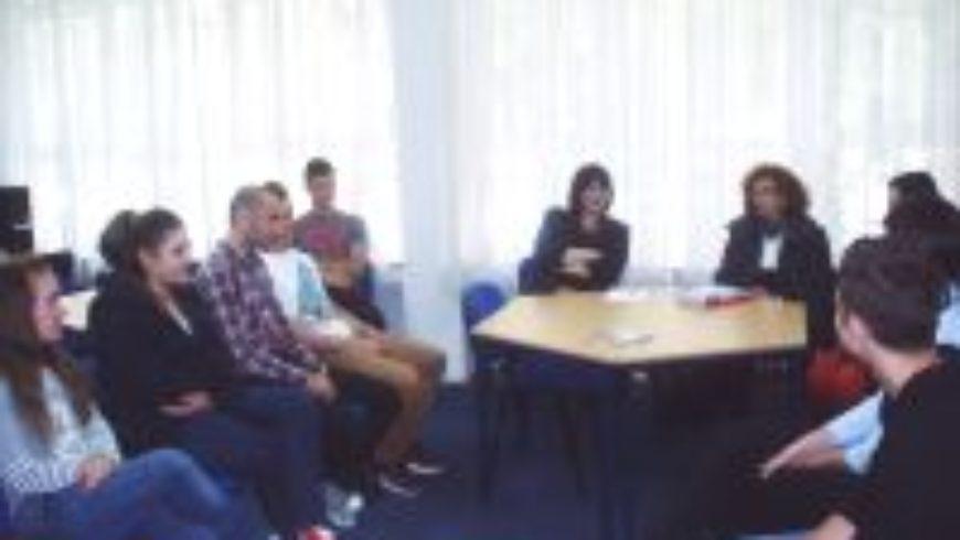 Susret s učenicima Medicinske škole u Osijeku