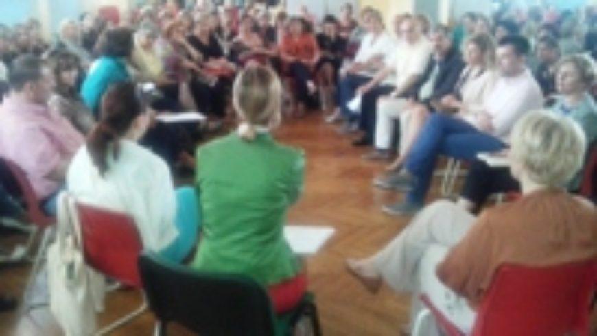 Rasprava o  inkluzivnom obrazovanju u Splitsko-dalmatinskoj županiji