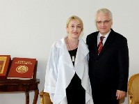 Predsjednik Ivo Josipović primio pravobraniteljicu