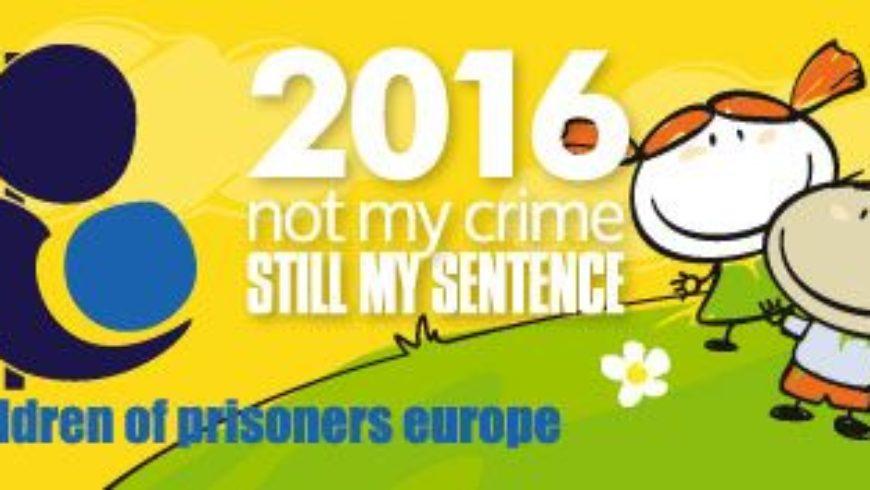 Lipanjska paneuropska kampanja za djecu čiji su roditelji u zatvoru