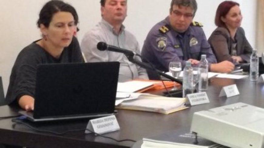 "Okrugli stol ""Postupanje policije kod uporabe sredstava prisile"" u Splitu"