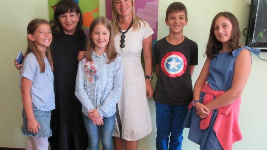 Četvrtaši iz OŠ Kajzerica u Zagrebu intervjuirali pravobraniteljicu
