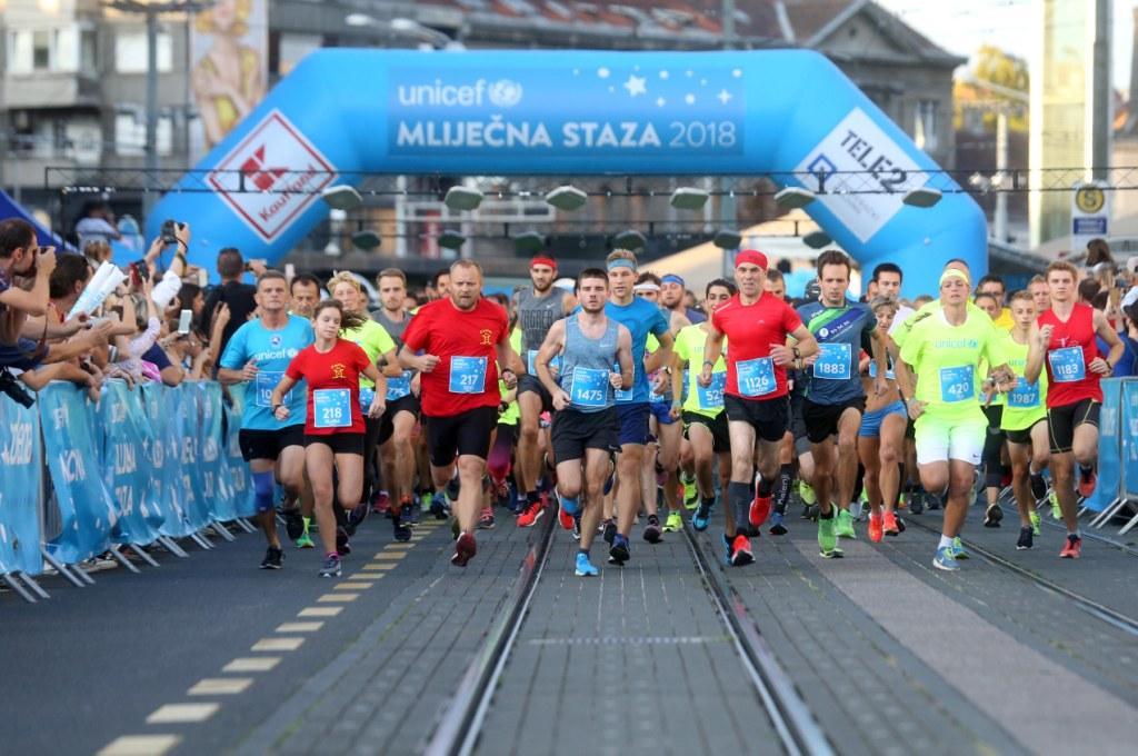 UNICEF-ova utrka Mliječna staza – potpora udomiteljstvu