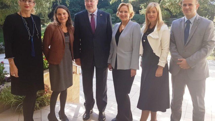Sastanak pravobranitelja s veleposlanikom SAD-a u Hrvatskoj
