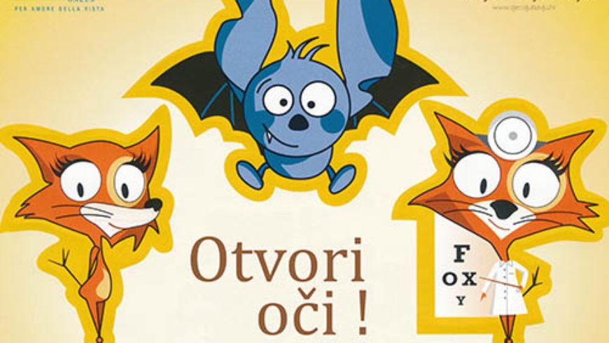 """Predstavljen edukativni crtani film za djecu """"Otvori oči"""""""